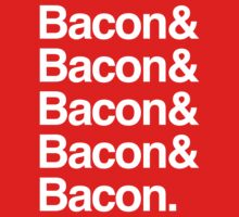 Bacon and Bacon Kids Clothes
