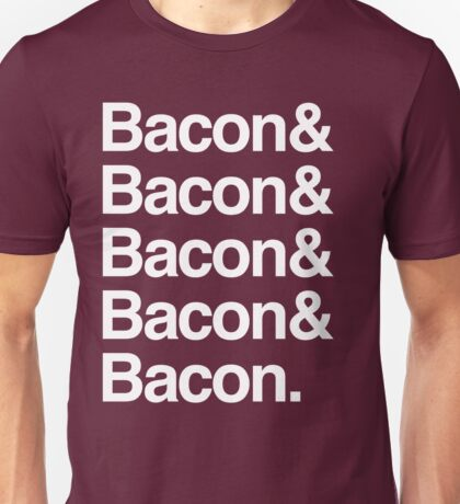 Bacon and Bacon Unisex T-Shirt