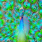 Light From Within (Neon Peacock) by soaringanchor