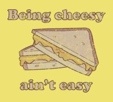 Being cheesy ain't easy Baby Tee