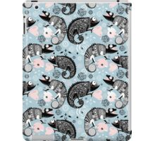 graphic ornamental chameleon iPad Case/Skin