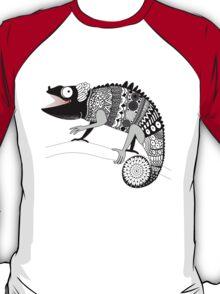 graphic ornamental chameleon T-Shirt