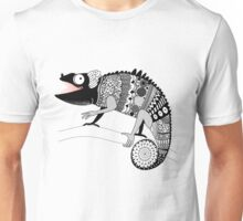 graphic ornamental chameleon Unisex T-Shirt