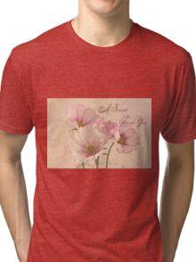 A Special Thank You - Card Tri-blend T-Shirt