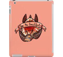 Sea Turtle - You Are Beautiful iPad Case/Skin