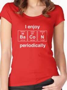 I enjoy bacon periodically Women's Fitted Scoop T-Shirt