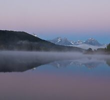 Oxbow Bend Before the Sunrise by Spencer Dickson
