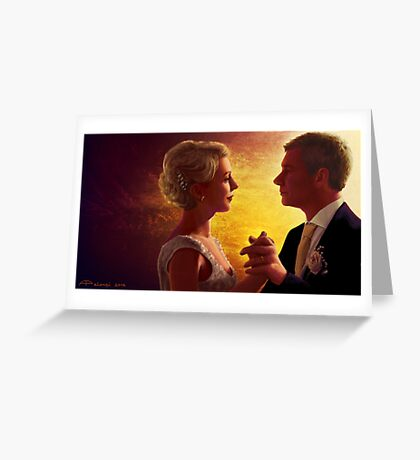 A Happy Couple Greeting Card