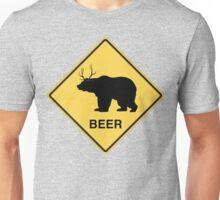Bear Deer Beer t-shirt Unisex T-Shirt
