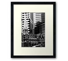 Albert St Uniting Church (B&W) Framed Print