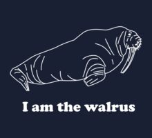 I am the walrus by contoured
