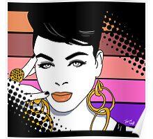 Jill Scott Pop Art Poster