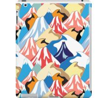 color pattern of the mountains iPad Case/Skin