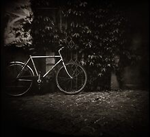 { lonesome bicycle } by Lucia Fischer
