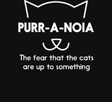 Purr-a-noia Womens Fitted T-Shirt