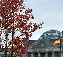 German reichstag by photoeverywhere