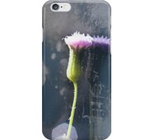Pink Flower Purple Reflection iPhone Case/Skin