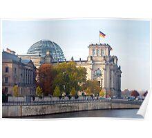 berlin Reichstag Poster