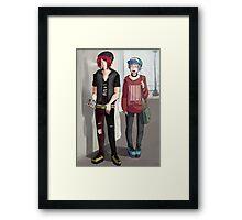 wannabe punk rintori Framed Print