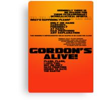 Flash Gordon - Queen Canvas Print