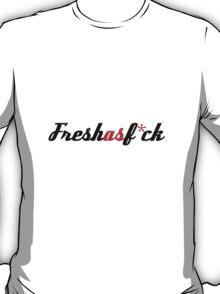Fresh as Fuck JDM Sticker T-Shirt