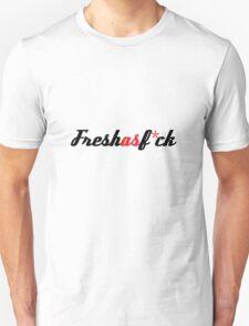 Fresh as Fuck JDM Sticker Unisex T-Shirt