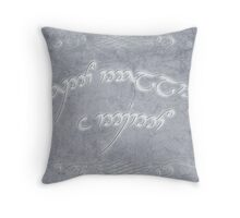 Speak Friend and Enter Throw Pillow