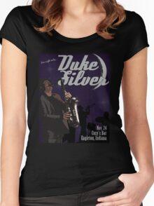Duke Silver Women's Fitted Scoop T-Shirt