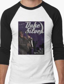 Duke Silver Men's Baseball ¾ T-Shirt