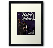 Duke Silver Framed Print
