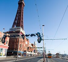 blackpool trams by photoeverywhere