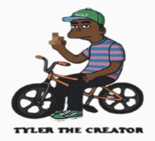 tyler the creator cartoon wolf by sonofdamorning