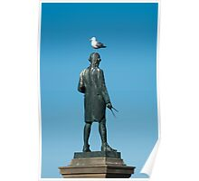 captain cook seagull Poster