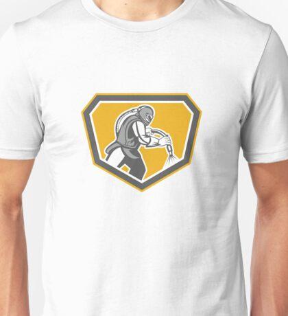Sandblaster Sandblasting Hose Side Shield Retro Unisex T-Shirt