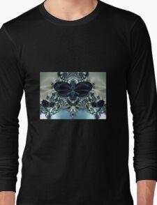 Blue Butterfly Lace II Long Sleeve T-Shirt