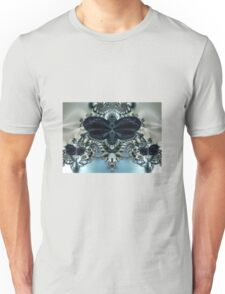 Blue Butterfly Lace II Unisex T-Shirt