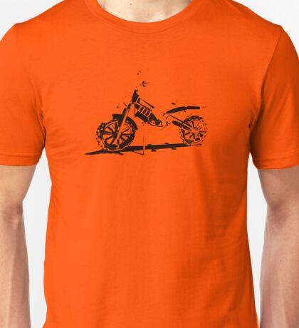 Nullarbor Dirt Bike Shadows Unisex T-Shirt