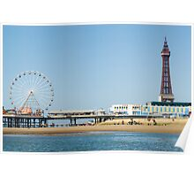 central pier and tower Poster