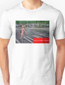 Seattle Street Fashion - Downtown Unisex T-Shirt