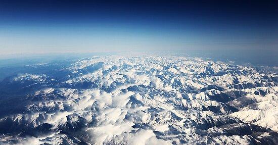 Snow Mountains by Tess Masero Brioso