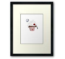 Mr Cupcake With Love Framed Print