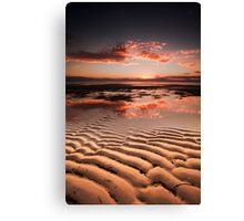 Sand Patch Canvas Print