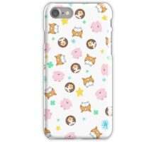 My Chubby Friends iPhone Case/Skin