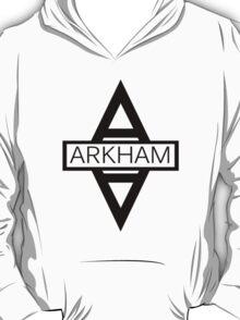 Arkham Asylum - Black Full T-Shirt