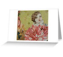 always happy girl Greeting Card