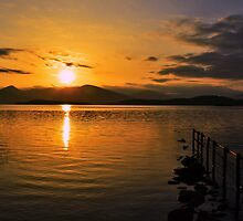 Loch  Lomond Sunset.  by SoftSocks