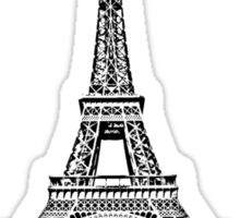Wanderlust - Eiffel Tower, Paris Sticker