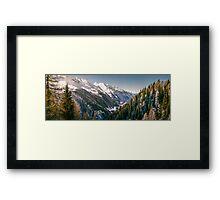 Valley in South Tirol Framed Print