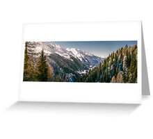 Valley in South Tirol Greeting Card