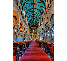 Fragment  interior of the cathedral Photographic Print
